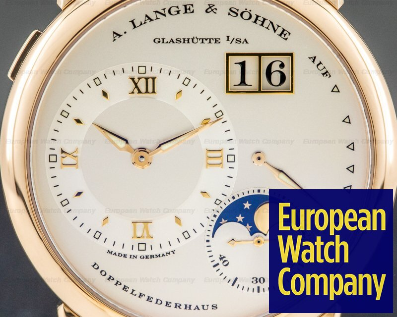 A. Lange and Sohne 109.032 Lange 1 Moon 18K Rose Gold