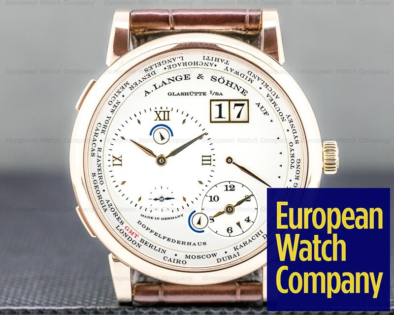 A. Lange and Sohne 116.032 Lange 1 116.032 Time Zone 18K Rose Gold