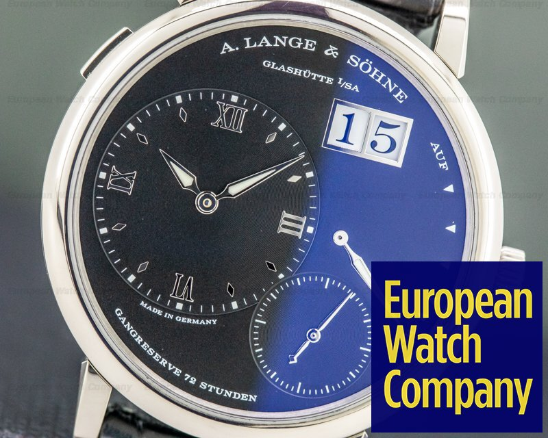 A. Lange and Sohne 117.028 Grand Lange 1 Black Dial