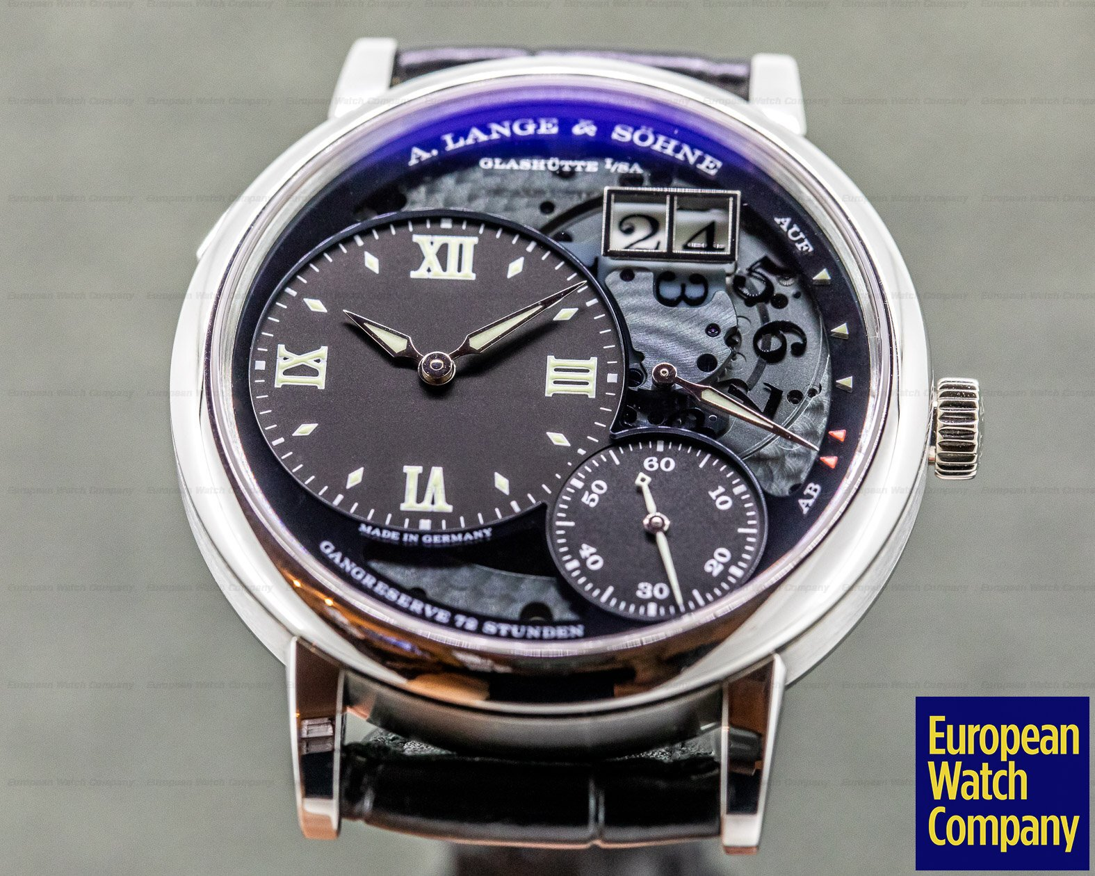 A. Lange and Sohne 117.035 Grand Lange 1 Lumen Platinum FULL SET