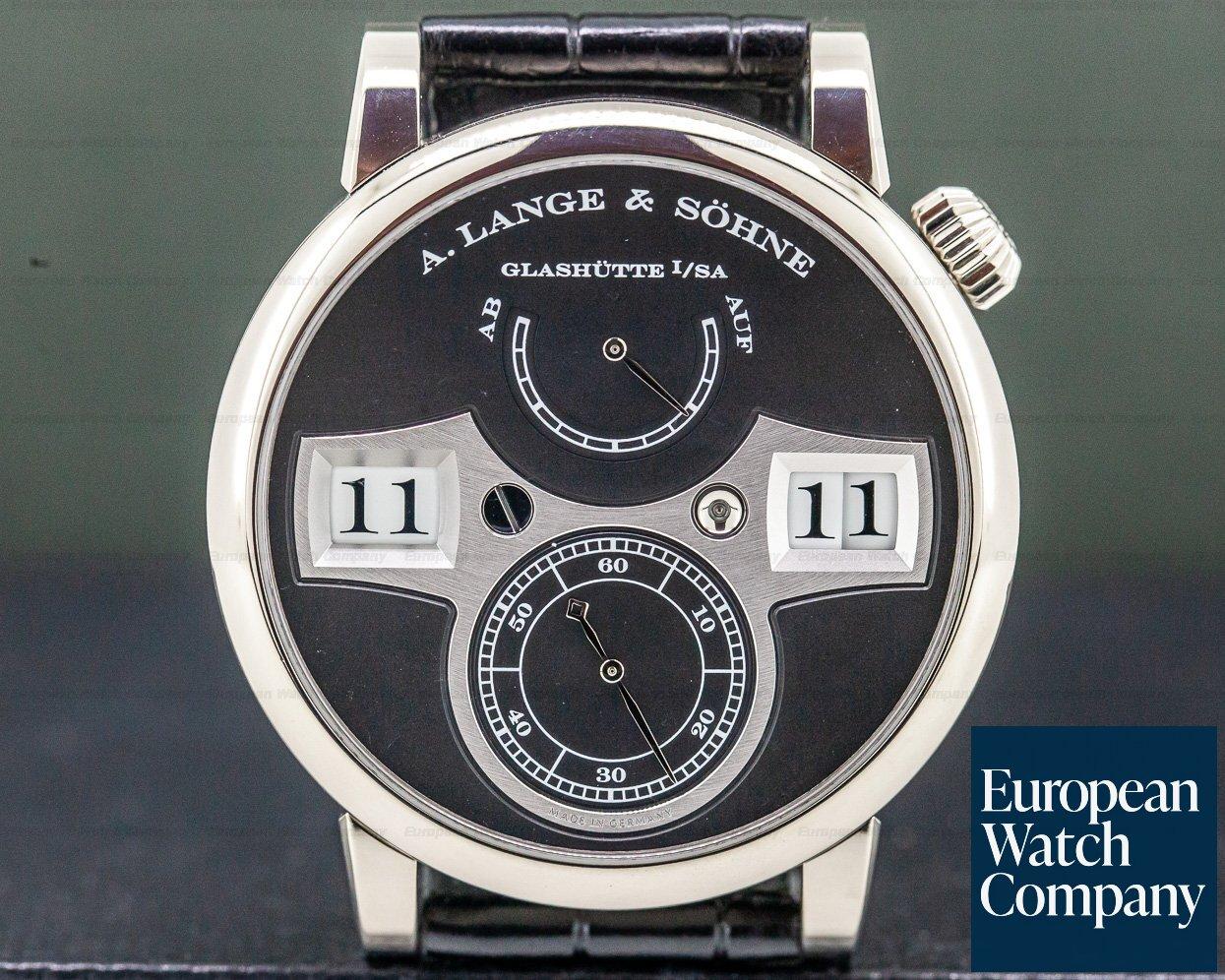 A. Lange and Sohne 140.029 Zeitwerk 18K White Gold