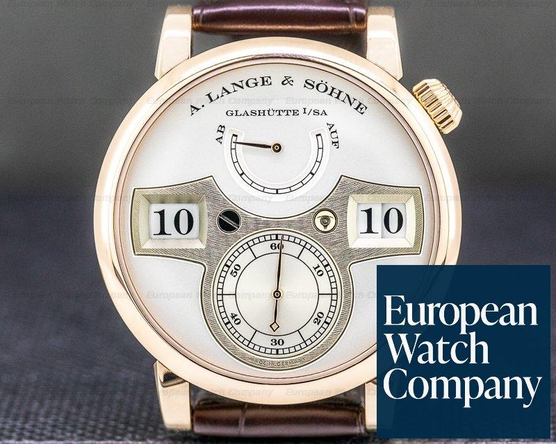 A. Lange and Sohne 140.032 Zeitwerk 140.032 18K Rose Gold 2019