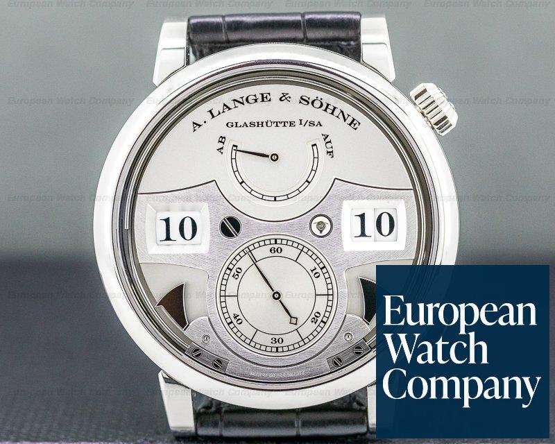 A. Lange and Sohne 145.025 Zeitwerk Striking Time 145.025 Platinum LIMITED