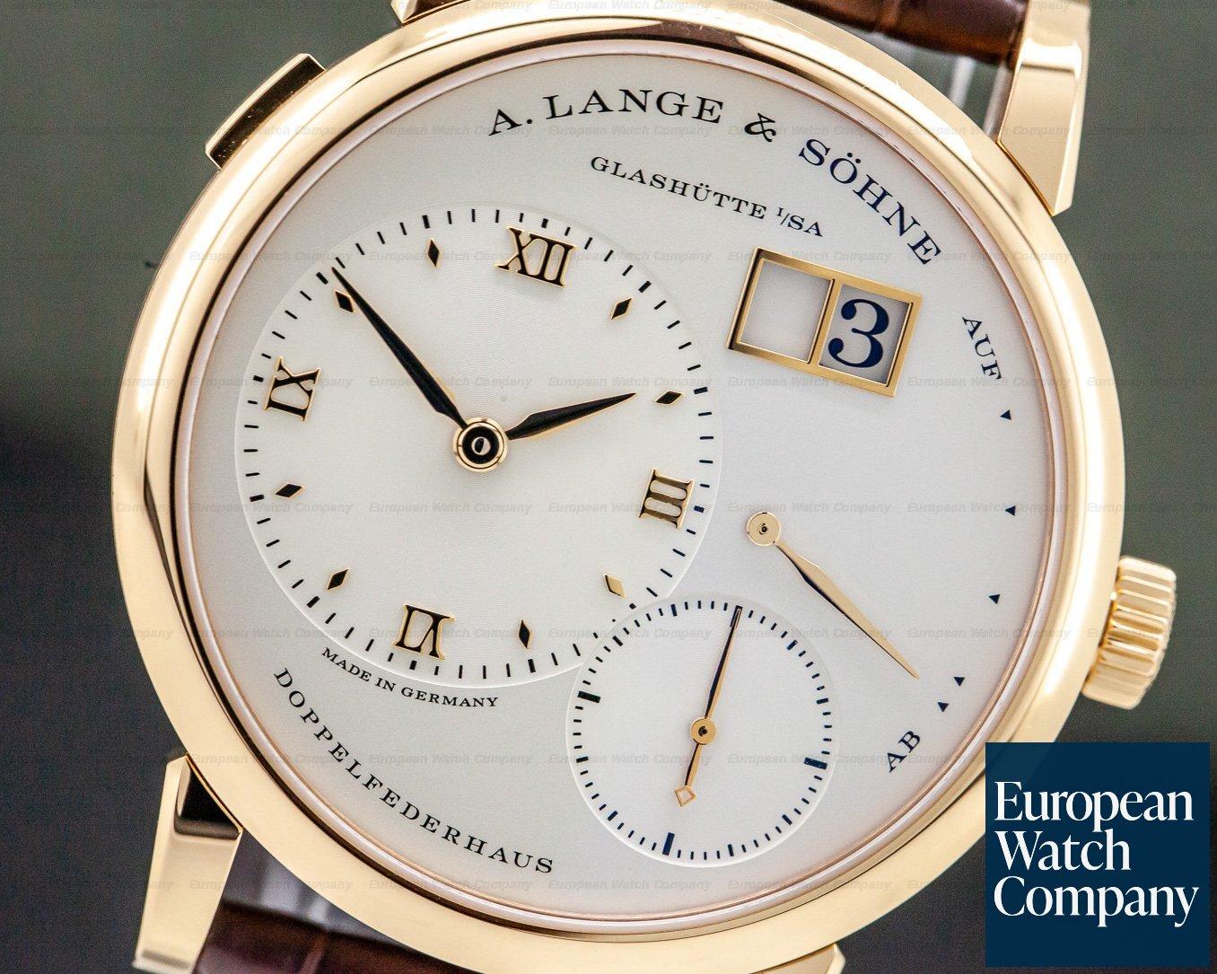 A. Lange and Sohne 191.032 Lange 1 18K Rose Gold / Deployant NEW MOVEMENT
