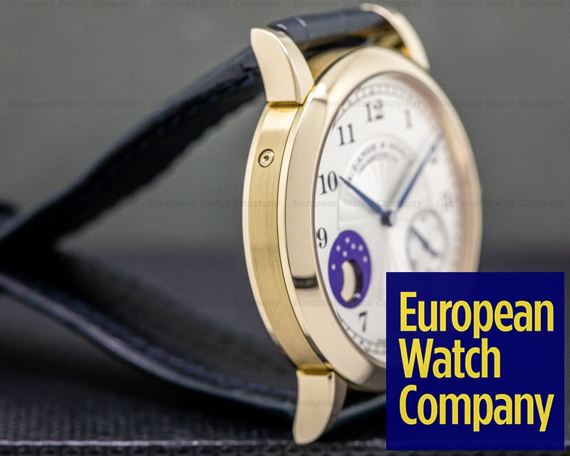 A. Lange and Sohne 212.050 1815 Moonphase Honey Gold Hommage to FA Lange
