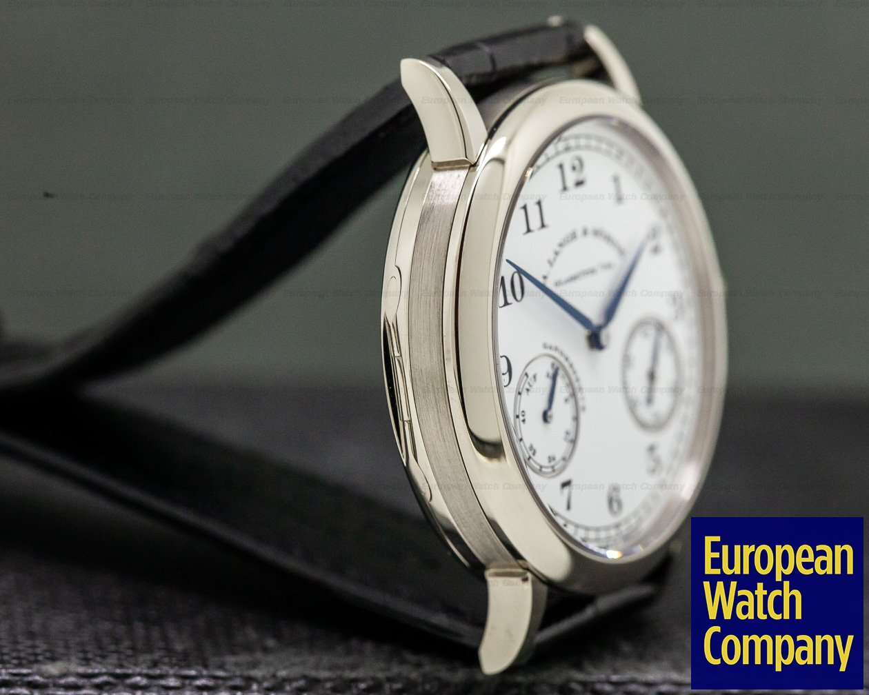 A. Lange and Sohne 223.026 1815 Up & Down Walter Lange Limited 18K White Gold