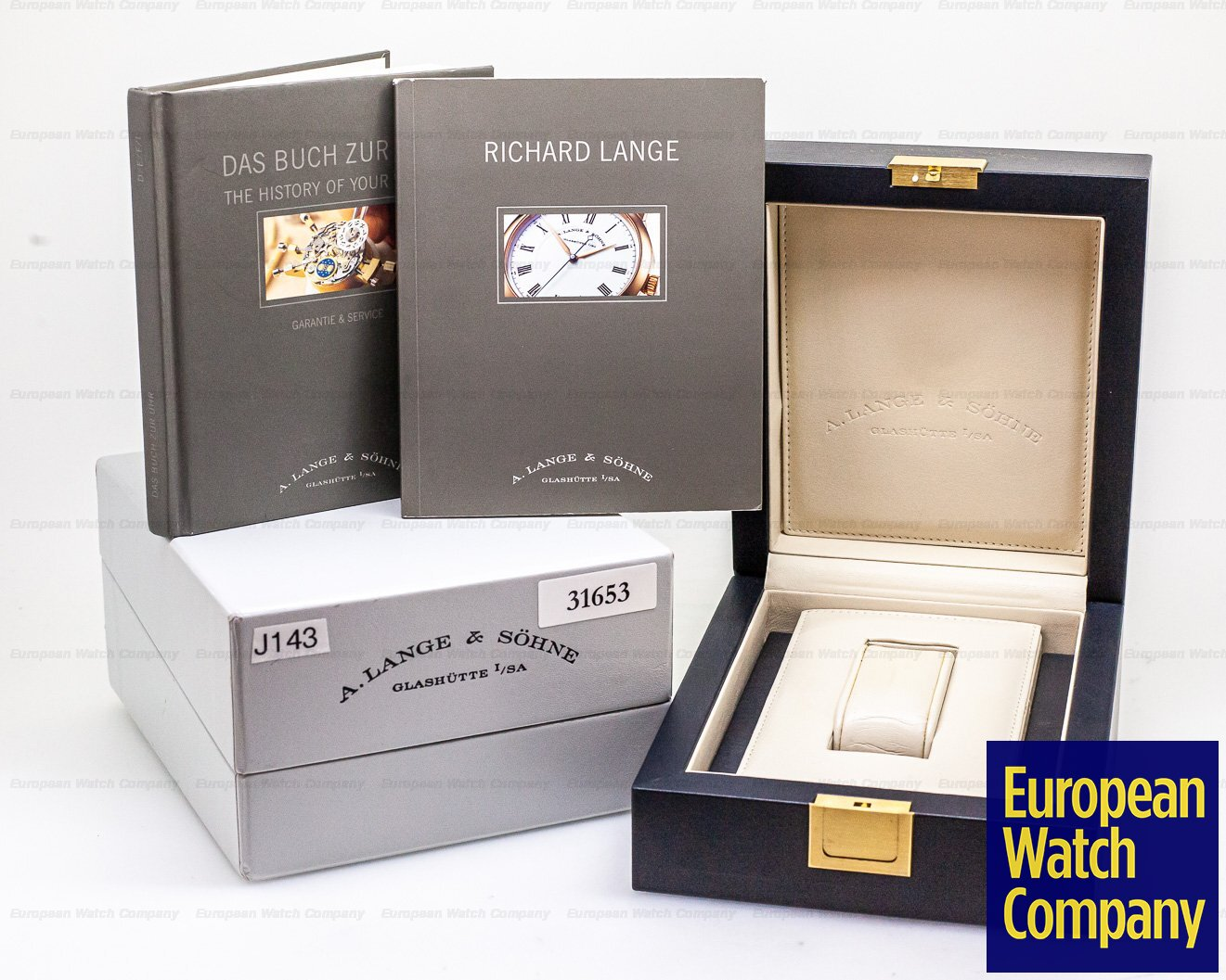 A. Lange and Sohne 232.021 Richard Lange 18K Yellow Gold