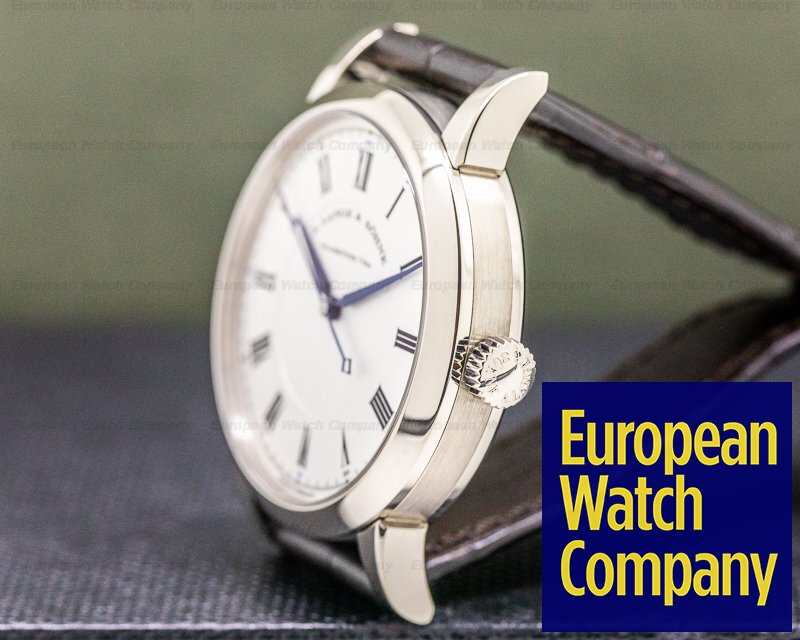 A. Lange and Sohne 232.026 Richard Lange 232.026 18K White Gold Boutique Special Edition