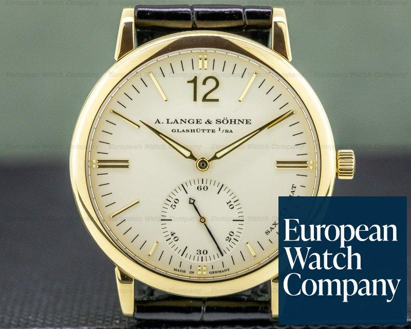 A. Lange and Sohne 301.021 Langematik SAX-O-MAT Automatic 18K Yellow Gold