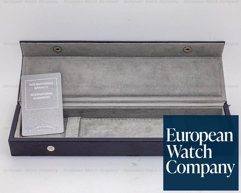 A. Lange and Sohne 301.027 Langematik 18K White Gold Black Dial