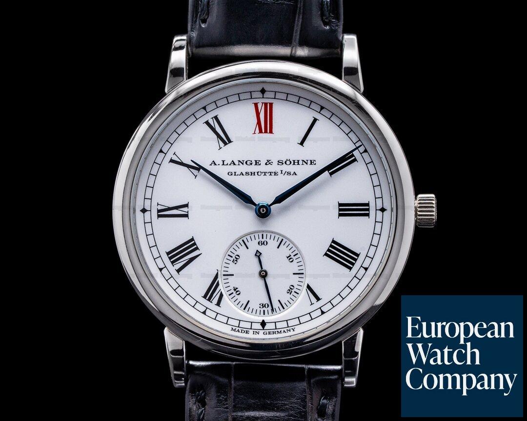 A. Lange and Sohne Anniversary 302.025 Jubilaums Langematik Platinum Limited Ref. 302.025