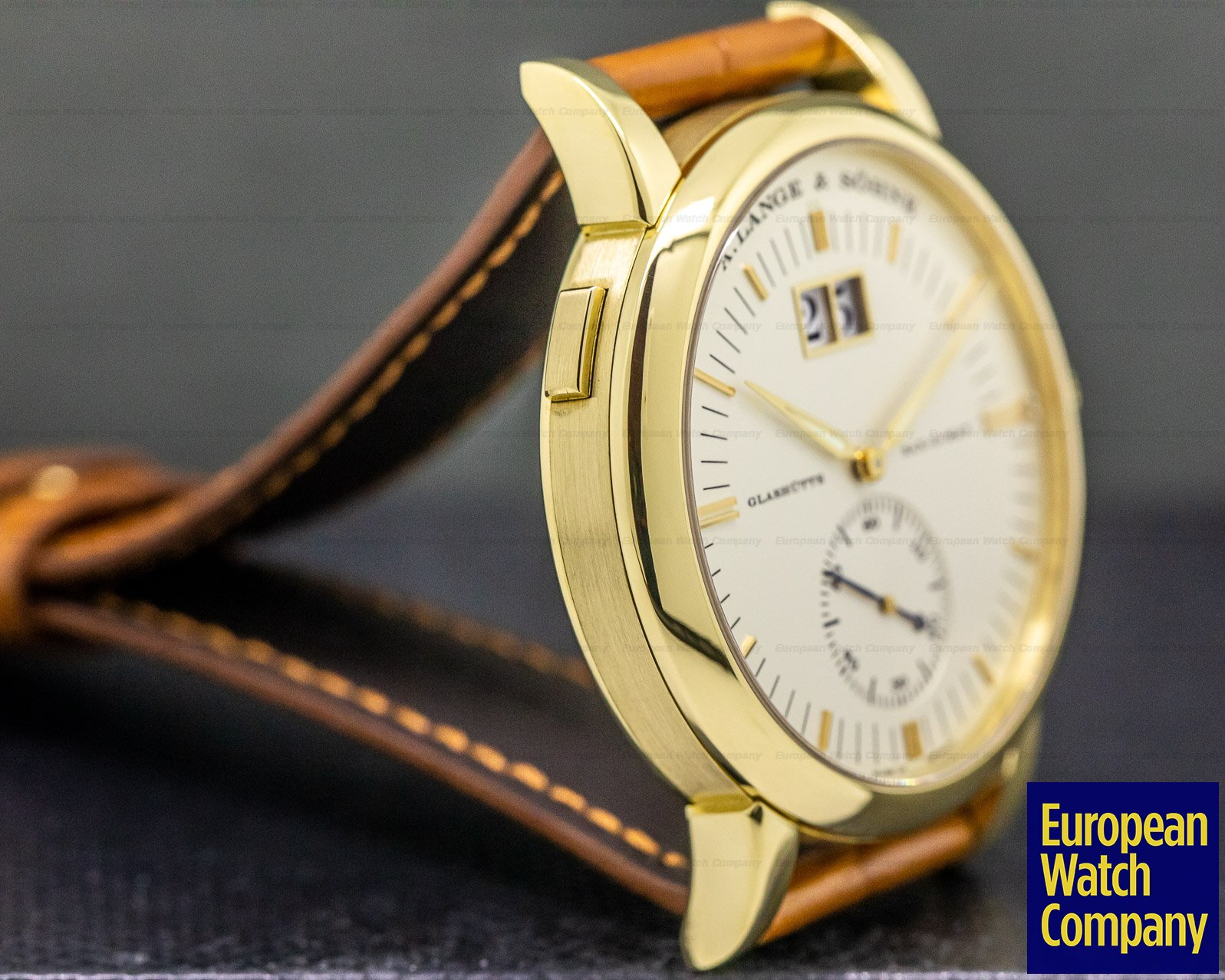 A. Lange and Sohne 309.021 Grand Langematik Date 18K Yellow Gold
