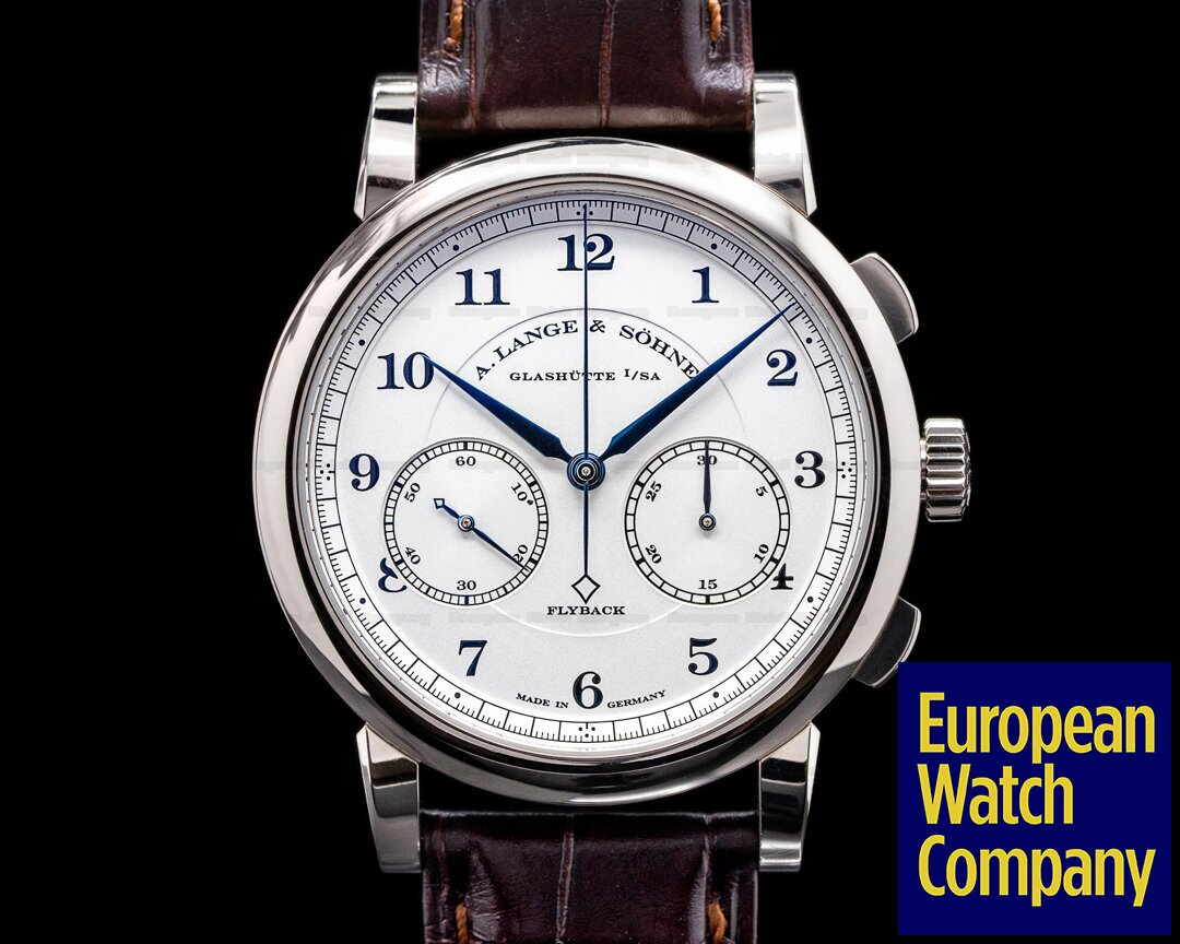 A. Lange and Sohne 402.026 1815 Chronograph 402.026 18K White Gold