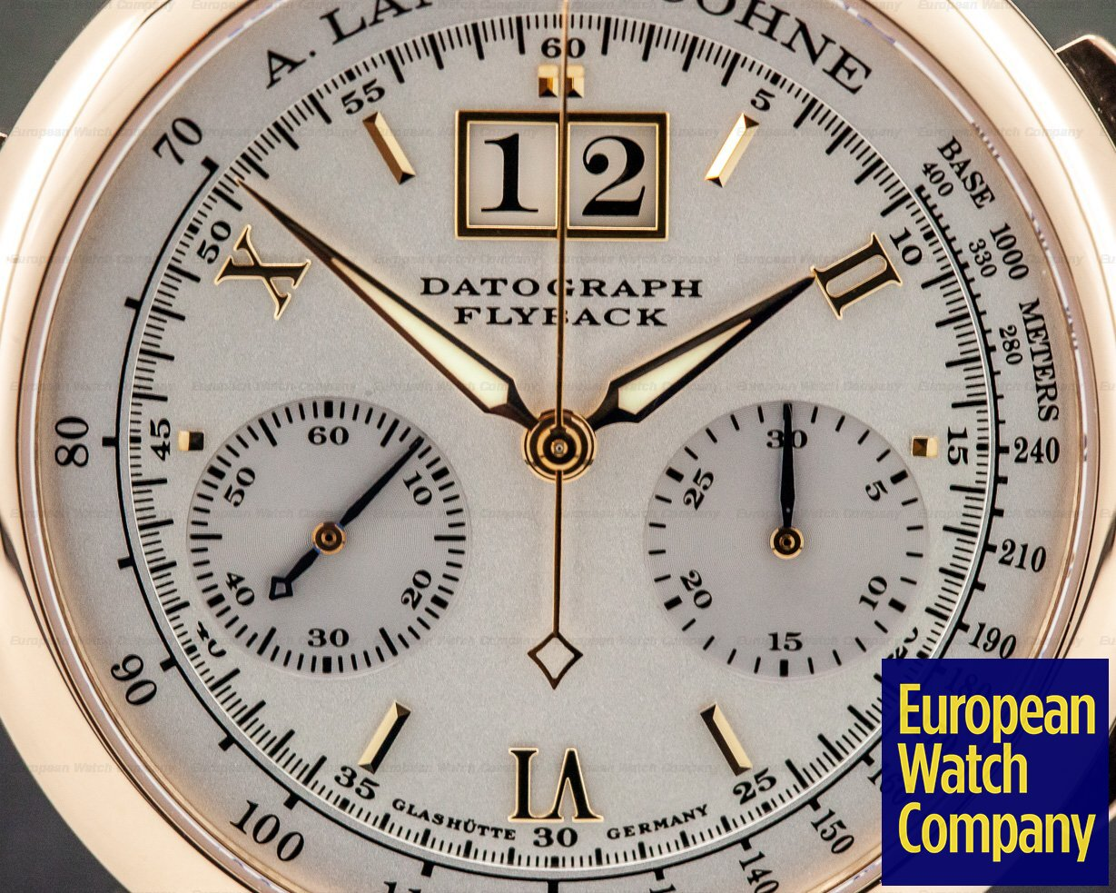 A. Lange and Sohne 403.032 Datograph Flyback 18K Rose Gold