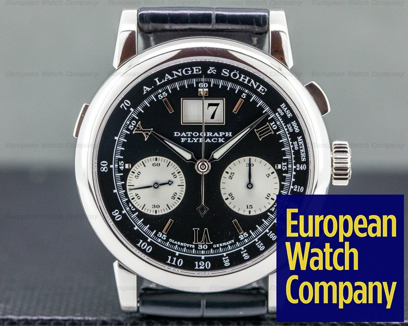 A. Lange and Sohne 403.035 Datograph Flyback 403.035 Platinum 39MM
