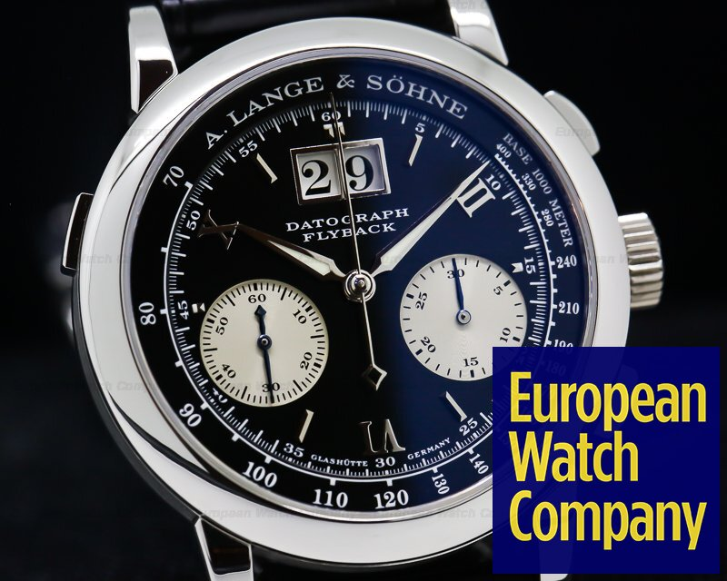 A. Lange and Sohne 403.035 Datograph Flyback Platinum / Deployment