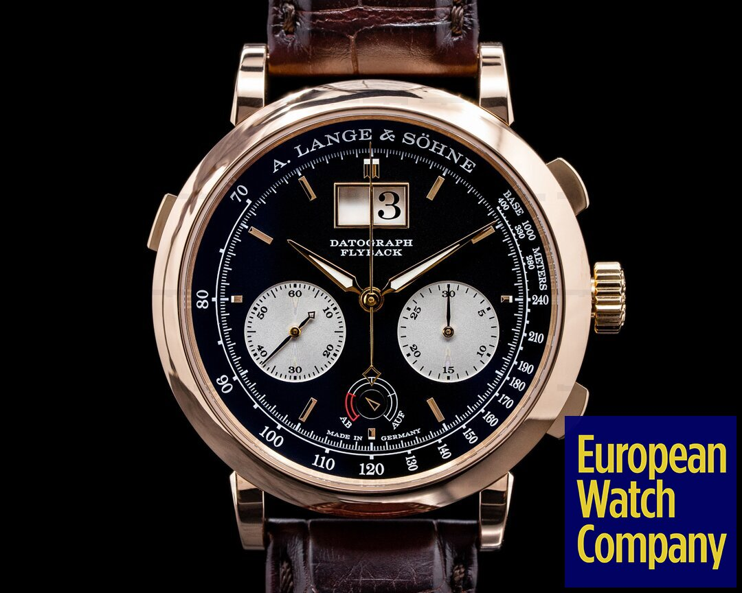 A. Lange and Sohne 405.031 Datograph Up / Down 18k Rose Gold 405.031 41MM