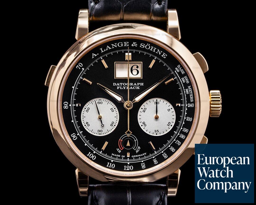 A. Lange and Sohne Datograph Up / Down 18k Rose Gold 405.031 41MM UNWORN Ref. 405.031