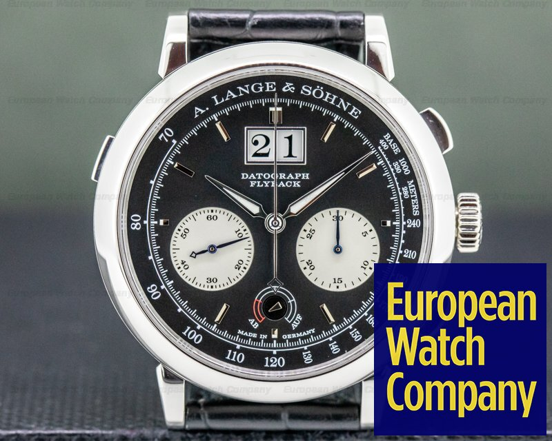A. Lange and Sohne 405.035 Datograph 405.035 Up / Down Platinum Deployment UNWORN