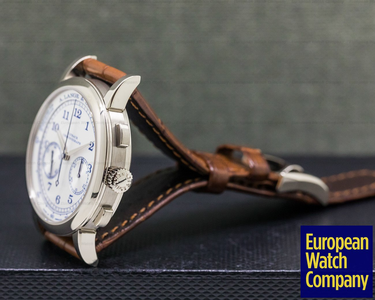 A. Lange and Sohne 414.026 1815 Chronograph 18K White Gold BOUTIQUE EDITION