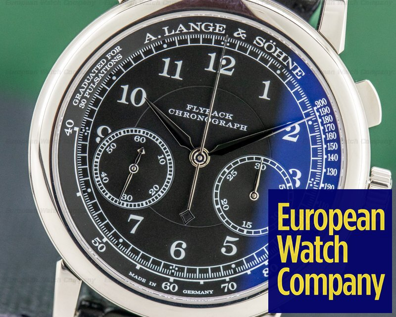 A. Lange and Sohne 414.028 1815 414.028 Chronograph 18K White Gold 2018