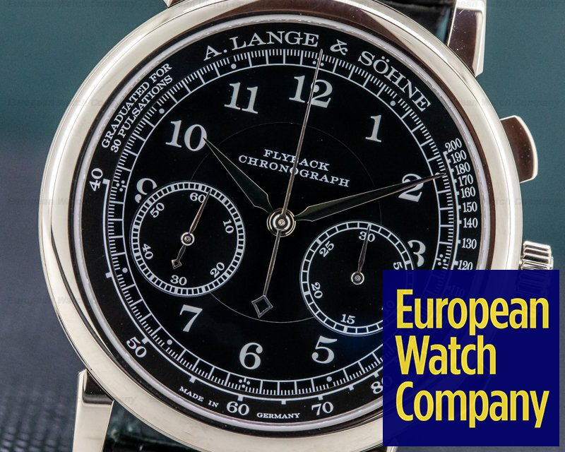 A. Lange and Sohne 414.028 1815 414.028 Chronograph 18K White Gold 2018 DEPLOYANT