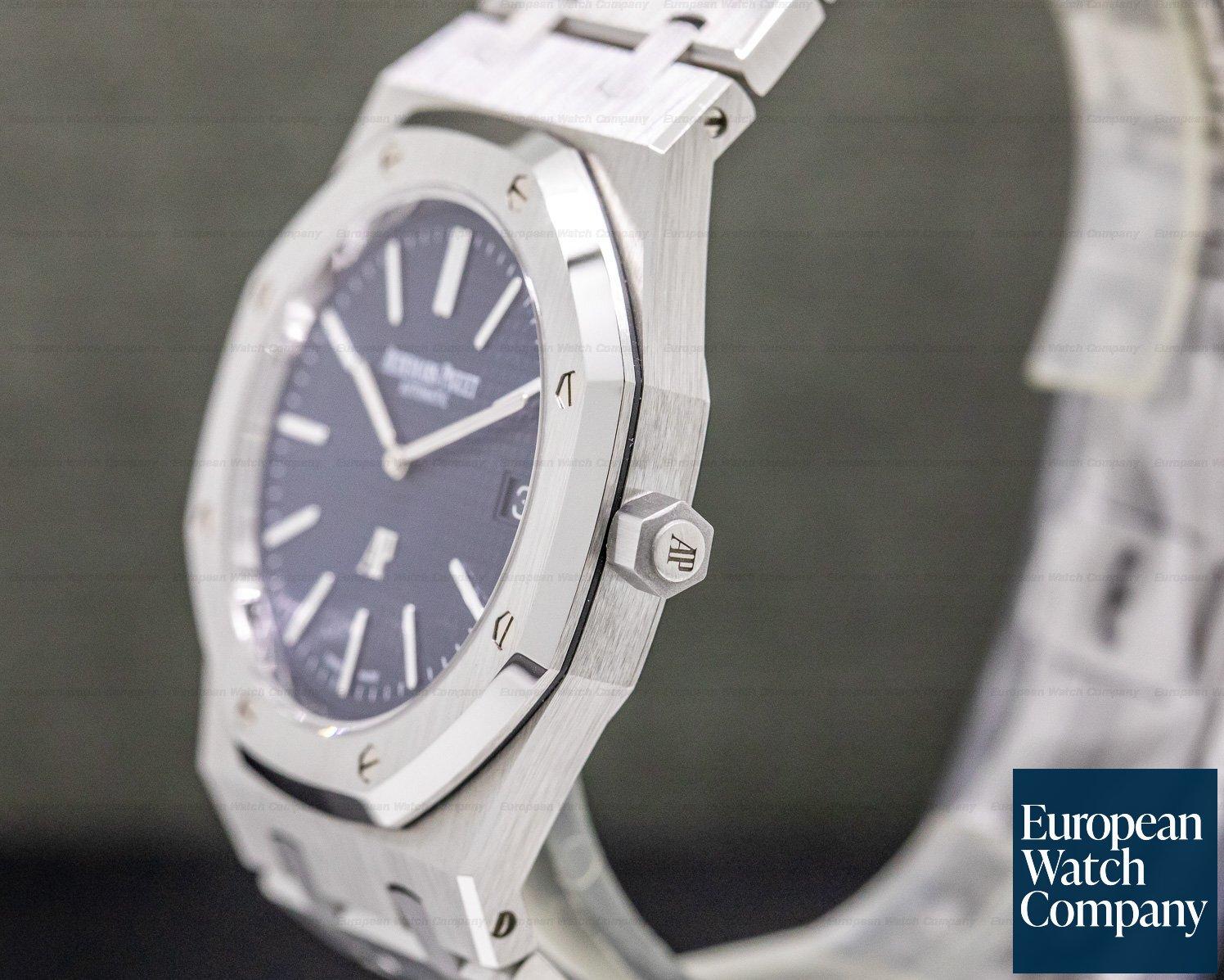 Audemars Piguet 15202ST.OO.1240ST.01 Royal Oak Extra Thin Blue Dial SS 15202ST