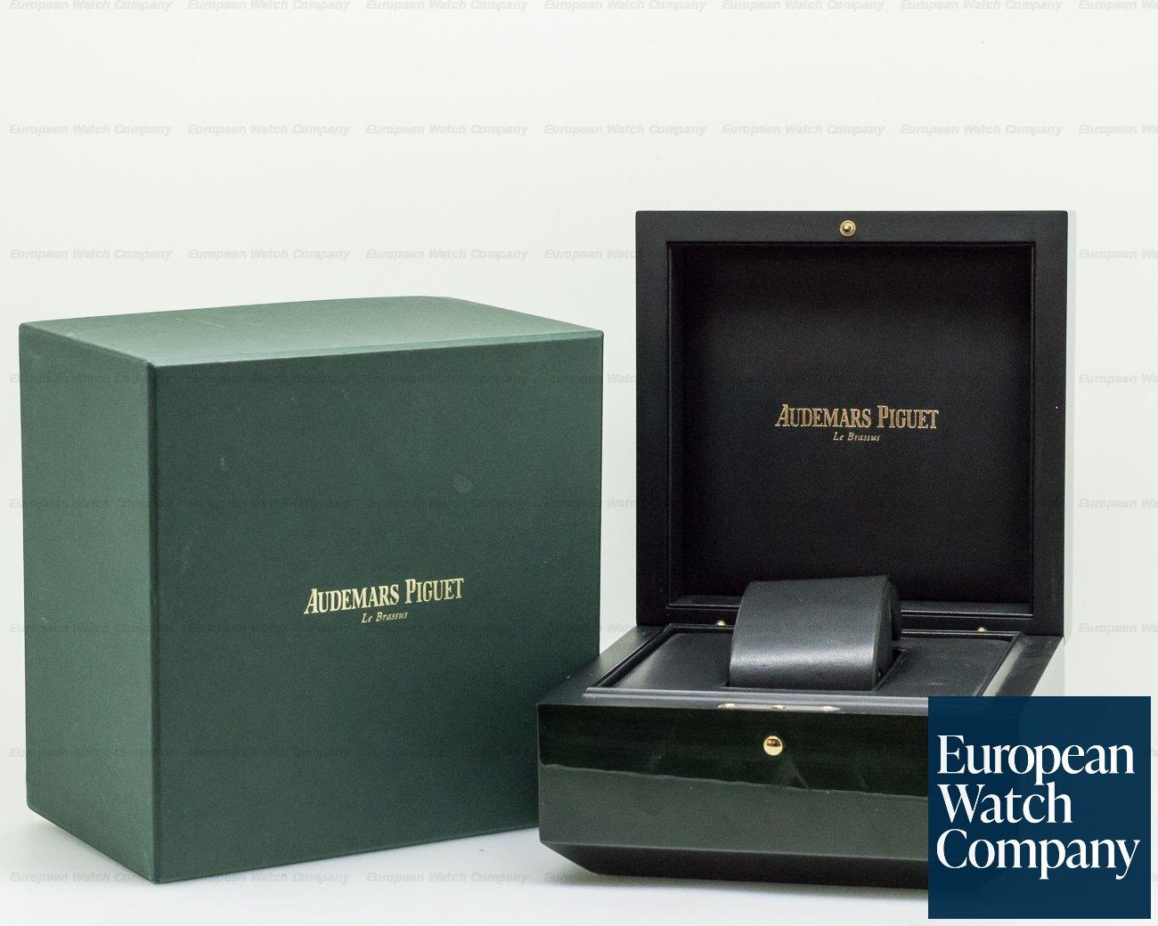 Audemars Piguet 15400ST.OO.1220ST.04 Royal Oak Ruthenium Dial SS / SS
