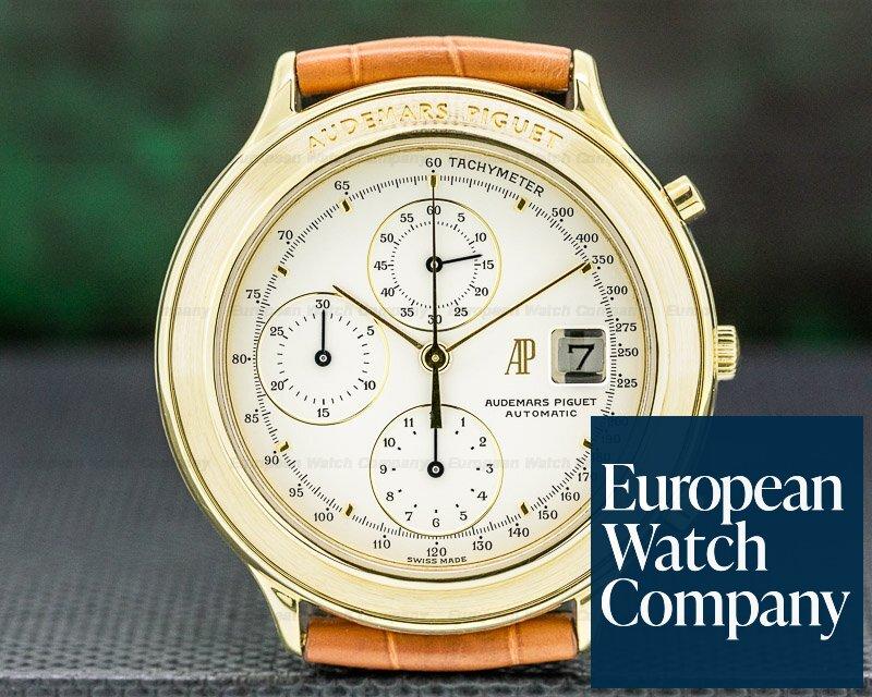 Audemars Piguet 25644.002 Huitieme Chronograph 18K Yellow Gold