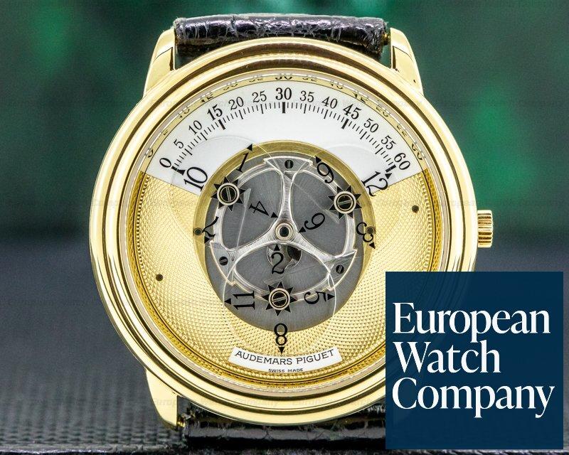 Audemars Piguet 25720BA/O/0002 Star Wheel Automatic Engraved Dial 18K Yellow Gold ORIGINAL OWNER
