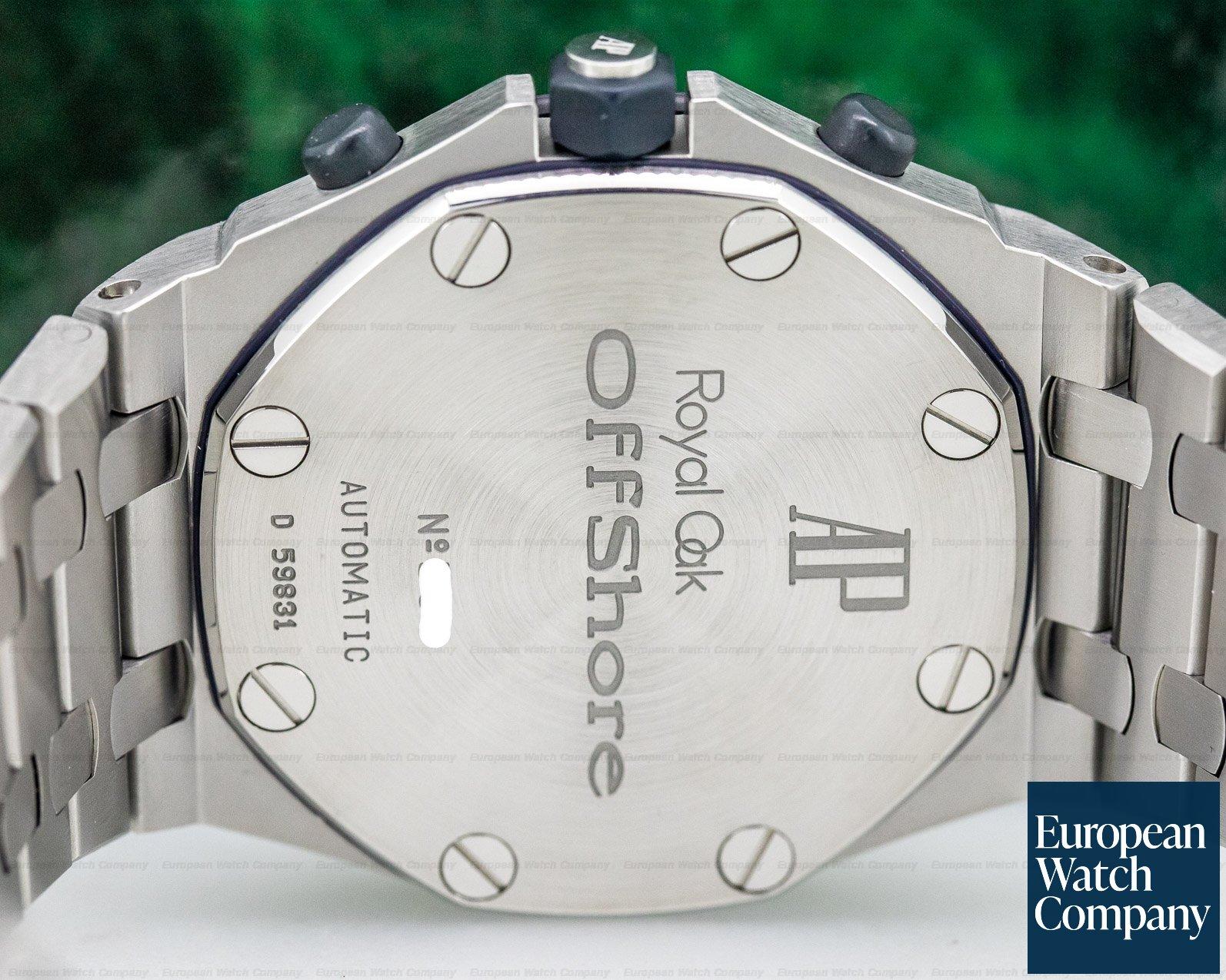 "Audemars Piguet 25721ST.O.1000ST.01 Royal Oak Offshore Chronograph ""THE BEAST"" D Series Blue Dial"