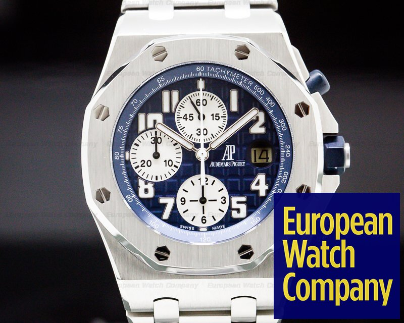 Audemars Piguet 25721ST.OO.1000ST.09 Royal Oak Offshore Blue Dial SS / SS