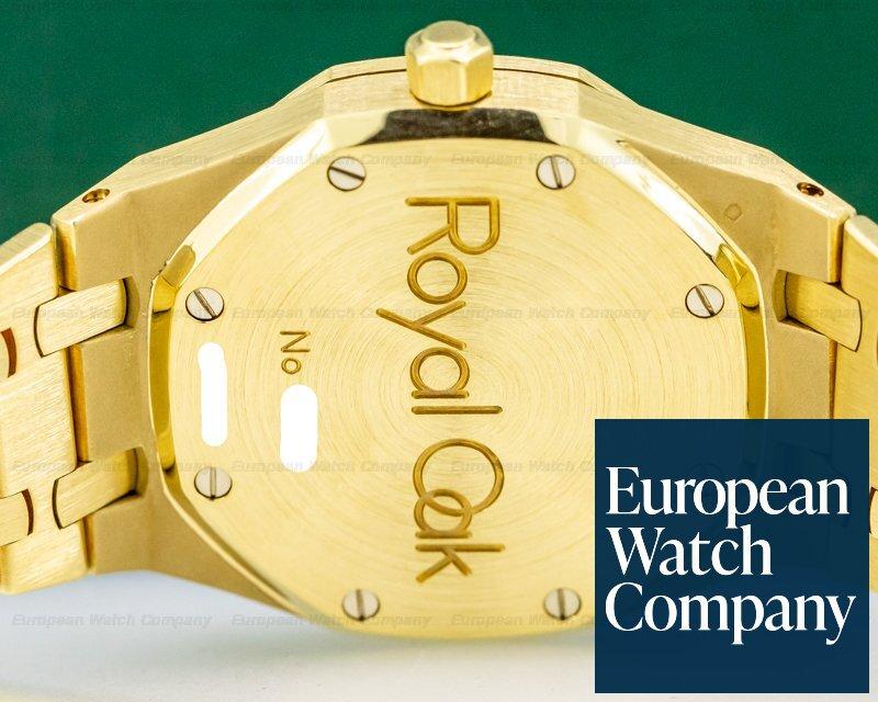 Audemars Piguet 25730BA/O/0789BA/04 Royal Oak Dual Time 18K Yellow Gold Black Dial 36MM