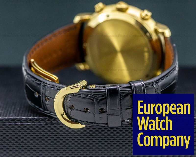 Audemars Piguet 25859BA/O/0001CR/02 Jules Audemars Chronograph Yellow Gold / Black Dial
