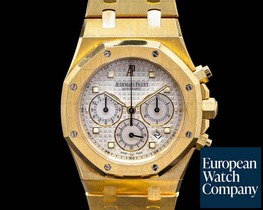 Audemars Piguet 26022BA.OO.D088CR.01 Royal Oak Chronograph  39MM 18K Yellow Gold SHARP