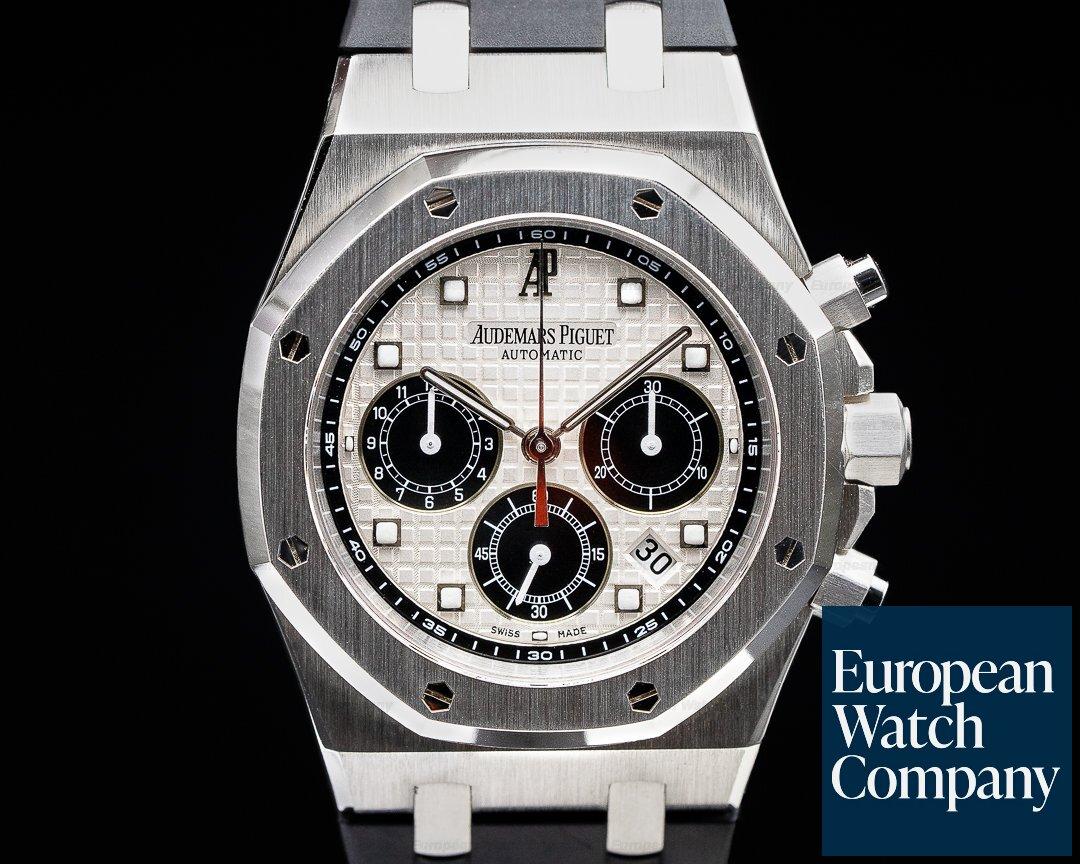 Audemars Piguet 26035PT.OO.D002CR.01 Royal Oak Chronograph Platinum 26035PT La Boutique Paris Limited