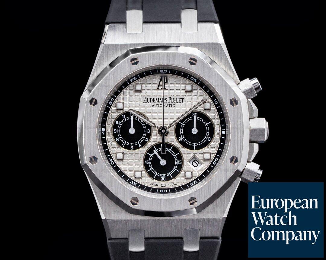 Audemars Piguet Royal Oak Chronograph Platinum 26035PT La Boutique Paris Limited FULL SE Ref. 26035PT.OO.D002CR.01