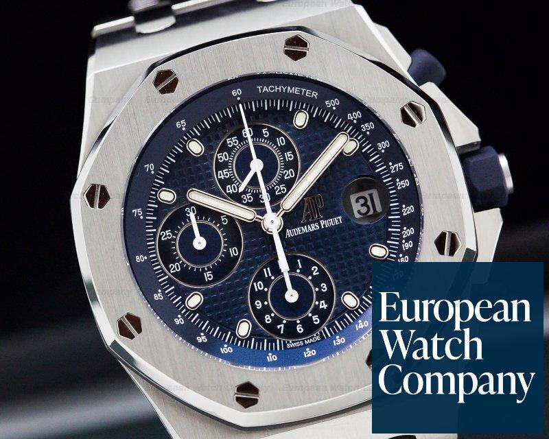 Audemars Piguet 26237ST.OO.1000ST.01 Royal Oak Offshore Blue Dial Re-Edition 2018
