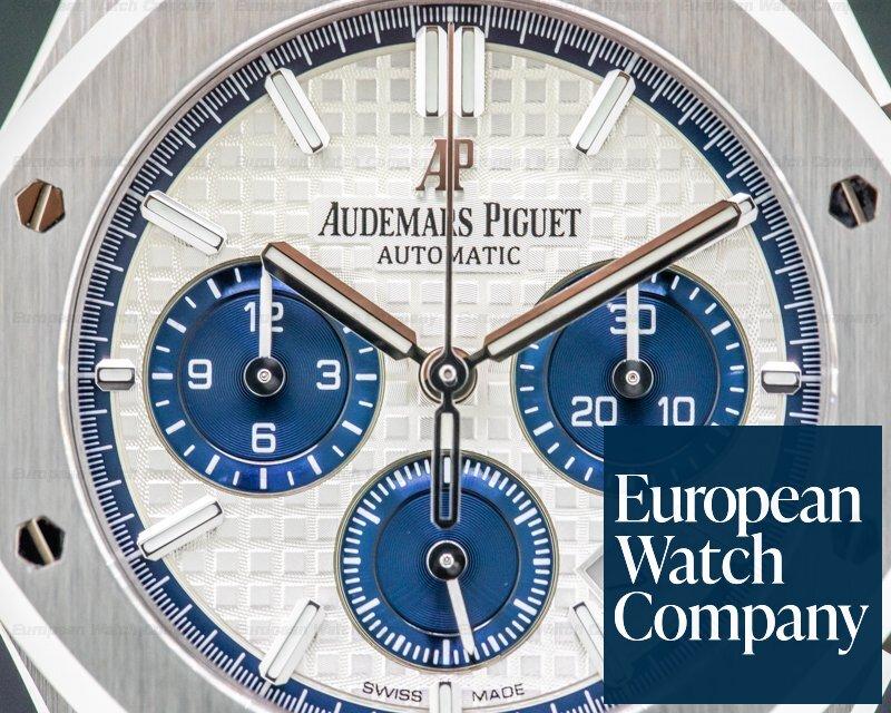 Audemars Piguet 26315ST.OO.1256ST.01 Royal Oak Chronograph Silver Dial SS 38MM