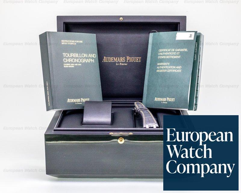 "Audemars Piguet 26347TI.OO.1205TI.01 Royal Oak Tourbillon Chronograph Openworked ""Material Good"" Edition"