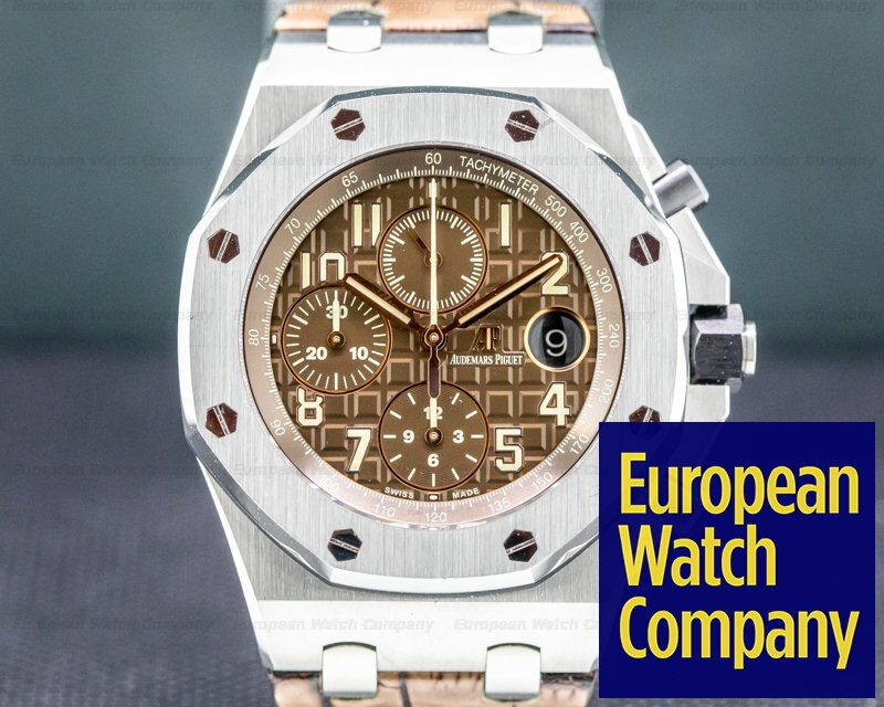 Audemars Piguet 26470ST.00.A820CR.01 Royal Oak Offshore Brown