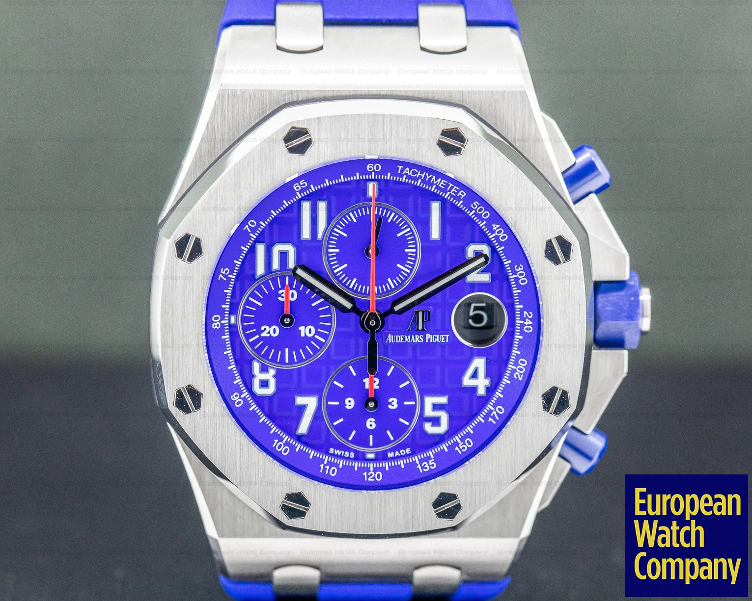Audemars Piguet 26470ST.OO.A030CA.01 Royal Oak Offshore Blue Dial SS / Rubber