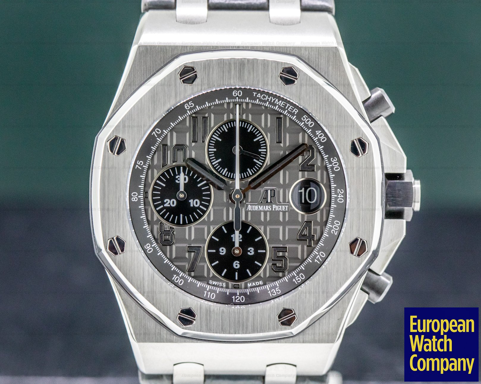 Audemars Piguet 26470ST.OO.A104CR.01 Royal Oak Offshore Slate-Grey Dial SS