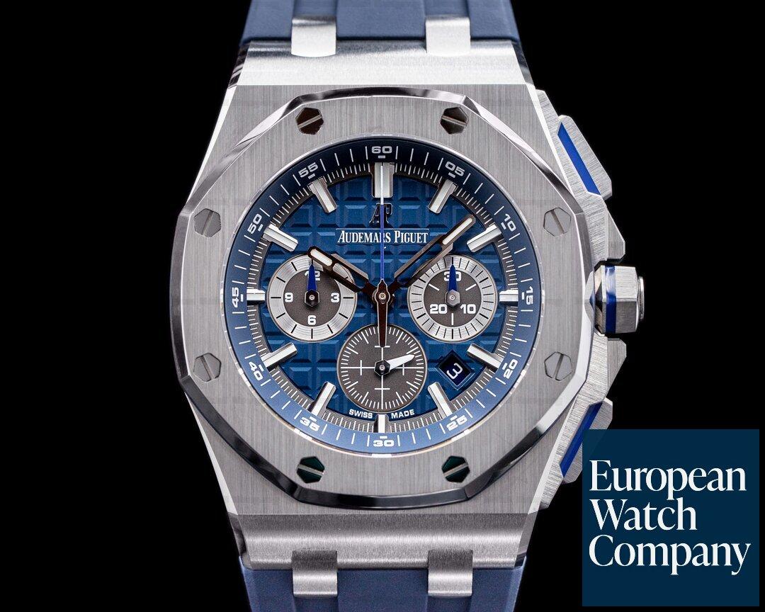 Audemars Piguet Royal Oak Offshore 26480TI Blue Dial 42mm Titanium 2021 Ref. 26480TI.OO.A027CA.01