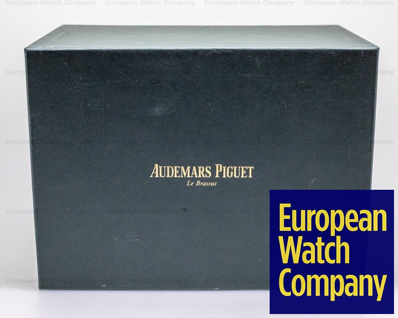 Audemars Piguet 26574ST.OO.1220ST.02 Royal Oak Perpetual Calendar 26574ST SS Blue Dial W EXTRAS 41MM