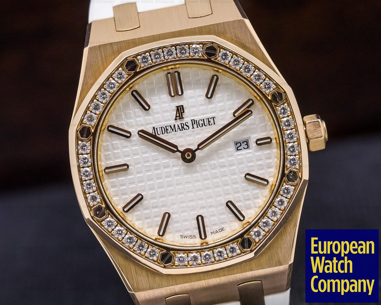 Audemars Piguet 67651OR.ZZ.D010CA.01 Royal Oak Ladies Quartz Rose Gold