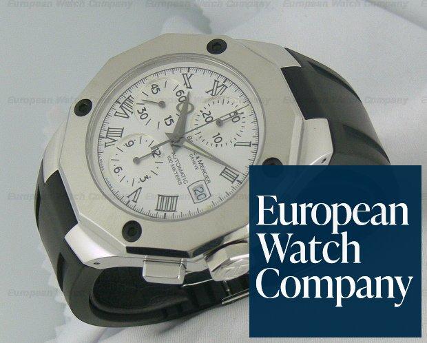 Baume & Mercier Riviera XXL White dial Ref. 8628