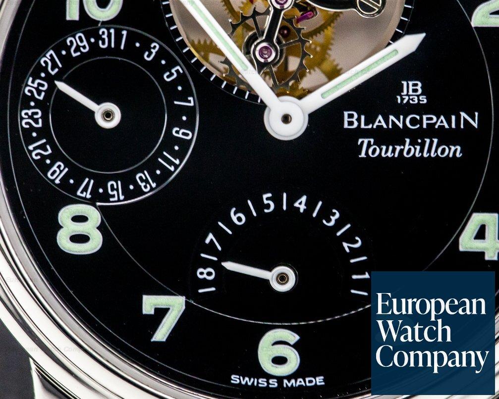 Blancpain 0023 Tourbillon Patinum Manual Wind PROTOTYPE DIAL