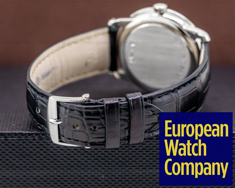 Blancpain 1106-1127-55 Villeret Ultra Slim Power Reserve SS Black Dial