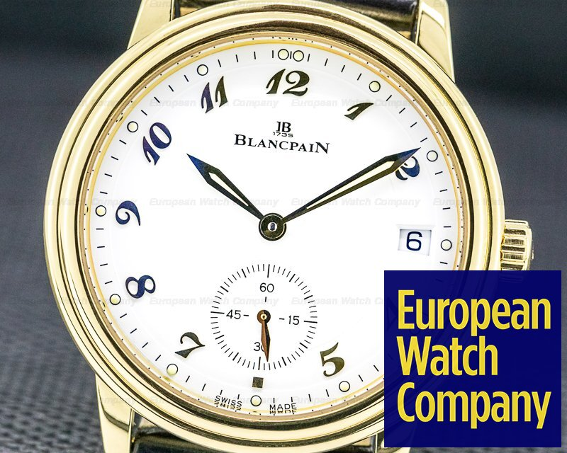 Blancpain 1161-1418-55 Villeret Automatic 18k Yellow Gold